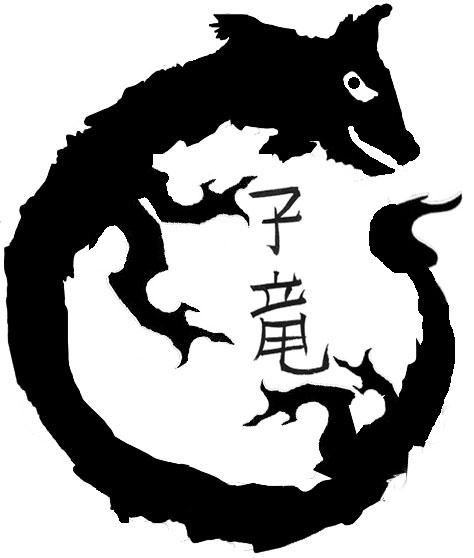 draak rond poten